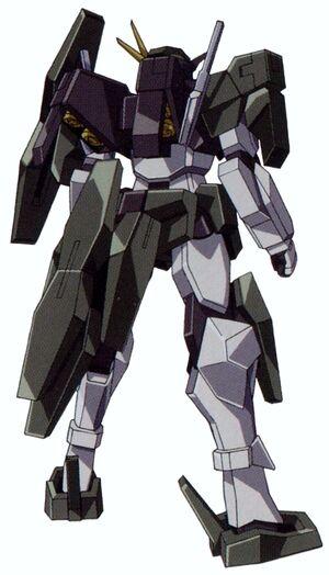 GN-006 - Cherudim Gundam - Back View