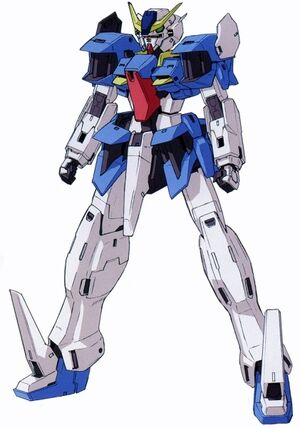 GN-XXX Gundam Rasiel - Front View