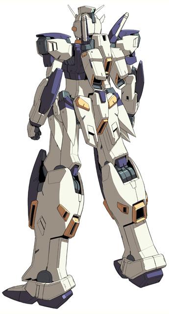 MSW-004 Gundam Kestrel-Rear
