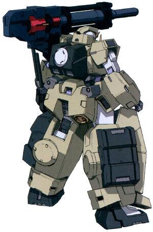 GN-005-PH Gundam Virtue Physical - Back View