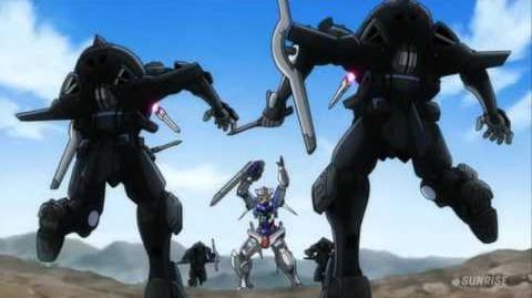 095 GN-001 Gundam Exia (from Mobile Suit Gundam 00)