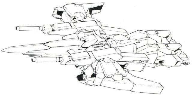 File:Lightning Gundam Full Burnern BW Flight Mode top.jpg