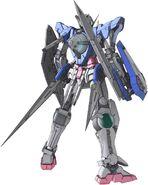GN-001 Gundam Exia Rear