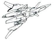 Lightning Back Weapon System missile ver. BW bottom view
