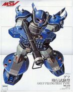 MS-07H Gouf Flight Test Type