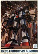 RX-78-1 - Prototype Gundam - Boxart