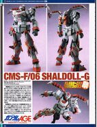 Scratch build Shaldoll-G 1