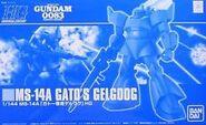 Gunpla HGUC GatoGelgoog box