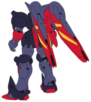 GF13-001NHII Master Gundam Attack Mode Rear