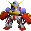 Unit as gundam maxter boxing mode