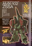 AMX-102 Zssa - SpecTechDetailDesign