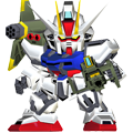Unit as launcher strike gundam