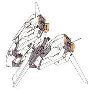 Rx 124 gundam ma rear
