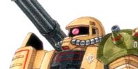 MS-06JK Zaku Half Cannon
