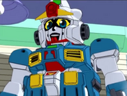 Captain Gundam Civilian Mode