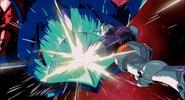 Gundam destroys Elmeth (CCA Version)