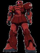 MS-05 Zaku I Char Aznable Custom