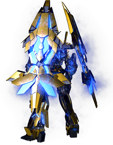 File:RX-0 Unicorn Gundam 03 Phenex (Destroy Mode) CG Art (Rear).png