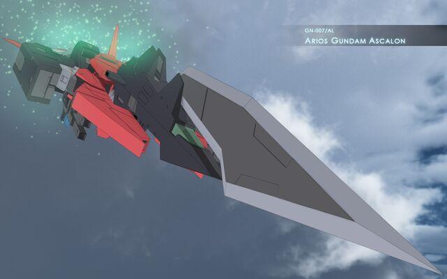 File:GN-007AL Arios Gundam Ascalon Wallpaper.jpg