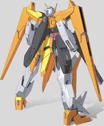 GN-007 Arios Gundam Rear
