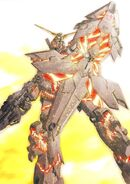 RX-0 Unicorn Gundam Armed Armor DE