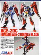 Gundam AGE-2 Double Blade 1