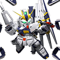 Unit sr nu gundam double fin funnel type