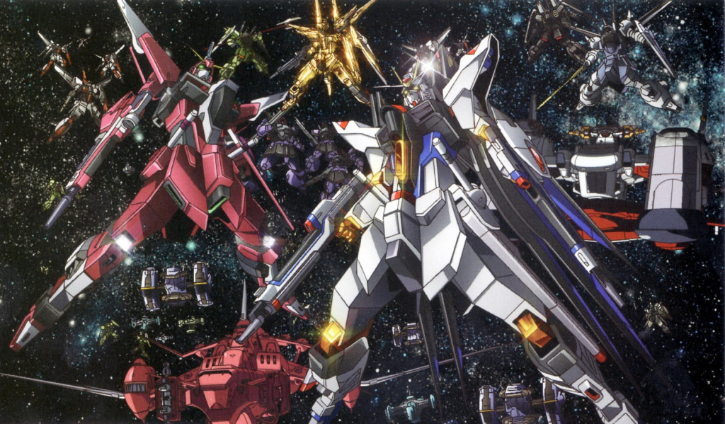 Gundam Seed Mobile Suits Full resolution