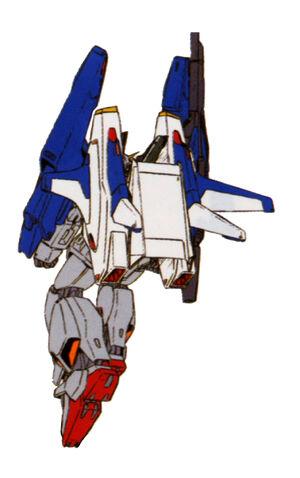 FXA-05+RX 178(SUPER GUNDAM) back
