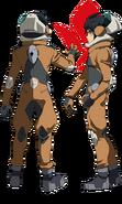 Mikazuki pilot suit b