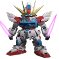 Unit a build strike gundam