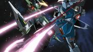 Slash ZAKU Phantom vs Chaos Gundam