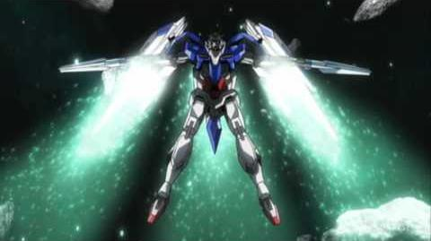 110 GN-0000 00 Gundam (from Mobile Suit Gundam 00)