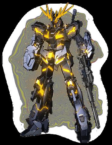 File:RX-0 Unicorn Gundam 02 Banshee (Destroy Mode) CG Art (Front).png