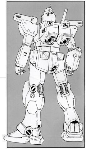 File:RGM-79N GM Custom - Back View Lineart.jpg