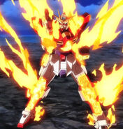 TBG-011B Try Burning Gundam (Burning Burst System)