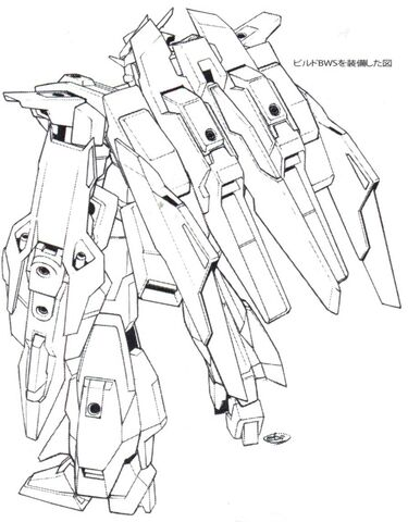 File:Lightning Gundam BWS BW rear lineart.jpg