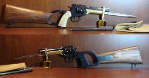 WebleyRevolverStock&Bayonet