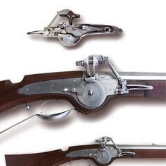 A wheellock from different views.