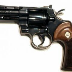 Colt Python with 4 in (102mm) barrel