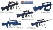 FAMAS-G2 family