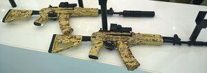 AK-12 and AK-15