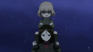 Ep 8 Katyusha riding Nonna