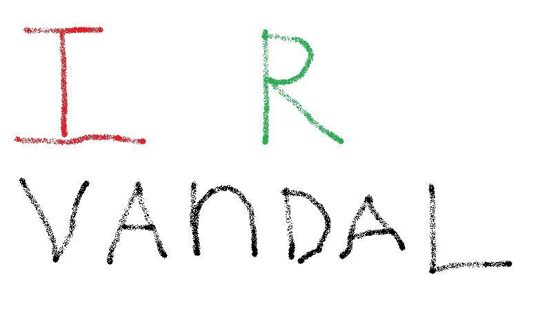 I R VANDAL