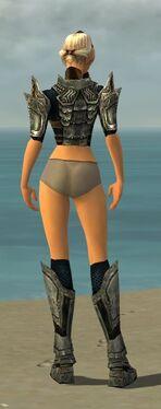 Warrior Elite Sunspear Armor F gray chest feet back