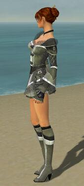 Elementalist Kurzick Armor F gray side