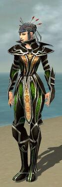 Necromancer Elite Sunspear Armor F dyed front