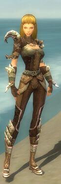 Ranger Asuran Armor F gray front