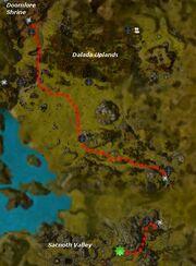 The Assassin's Revenge map