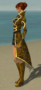 Elementalist Elite Canthan Armor F dyed side